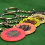 Jetons mit Schlüsselanhänger 16